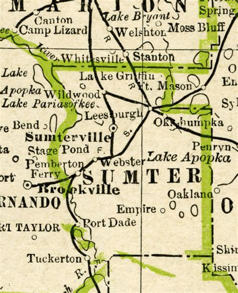 Sumter County Search Sumter County 1886