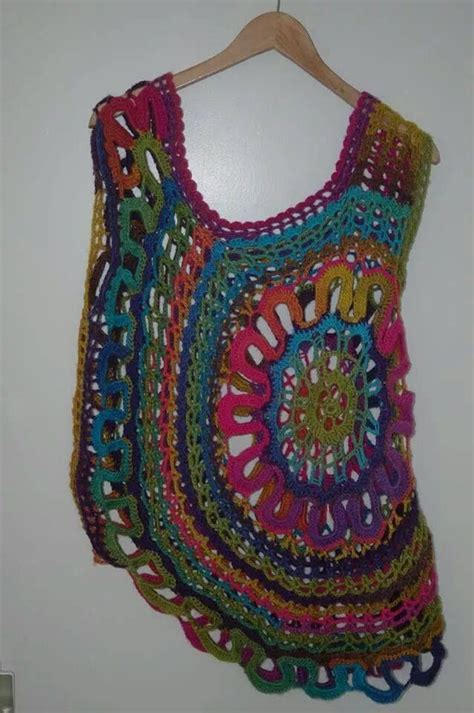 Dress Lace Fenna spaanse trui gemaakt fenna regenboog haken crochet