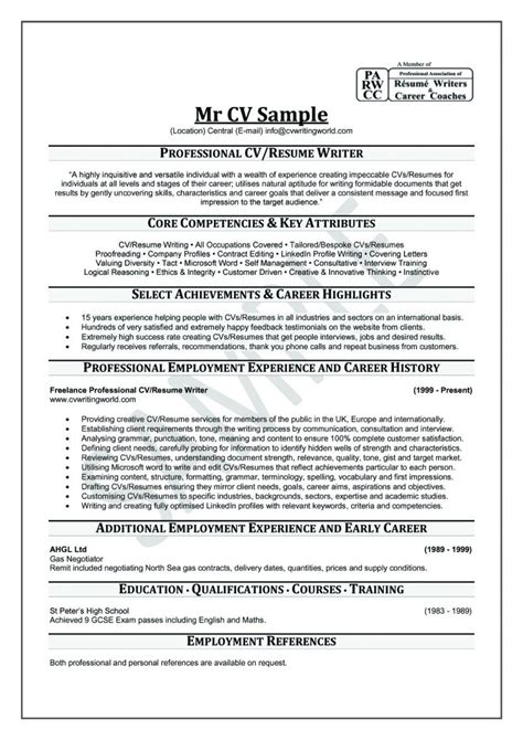 Professional Cv Writing by Curriculum Vitae Help Template Resume Builder