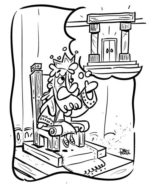 coloring page king solomon king solomon by pocza on deviantart