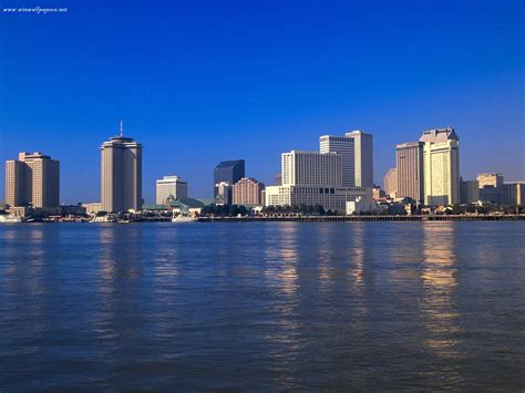 city news new orleans city skyline wallpaper