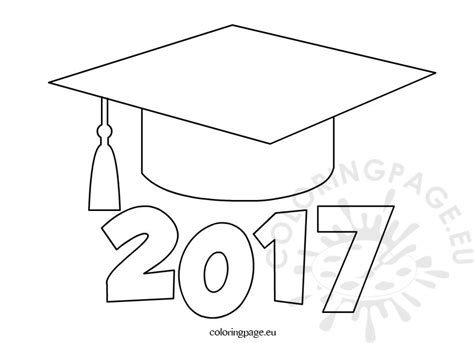 Graduation Hat Template graduation cap coloring page regarding really encourage to