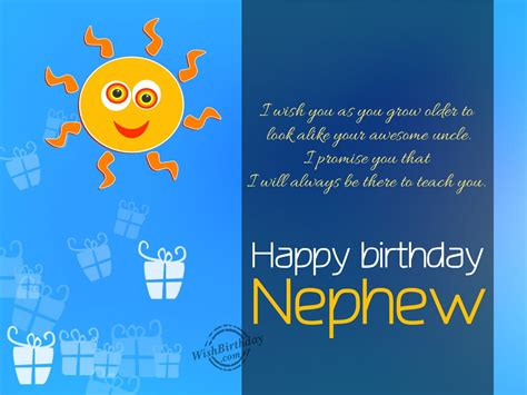 Happy Birthday Wishes For Nephew Birthday Wishes For Nephew Birthday Images Pictures