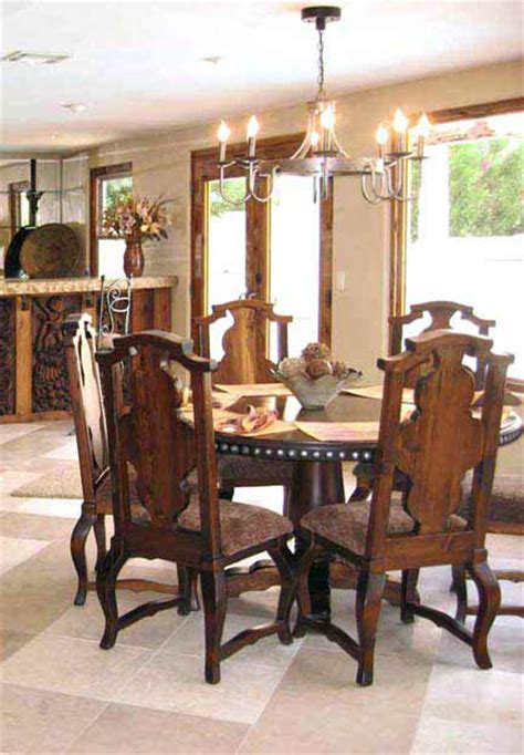 queen anne dining room furniture round dining tables handcrafted custom queen anne dining