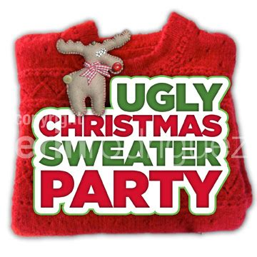 images of ugly christmas sweater parties ugly christmas sweater party logo erin rodriguez flickr