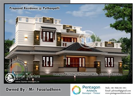 1850 square floor 4 bhk modern home design 2150 sq ft 4 bhk floor modern home design