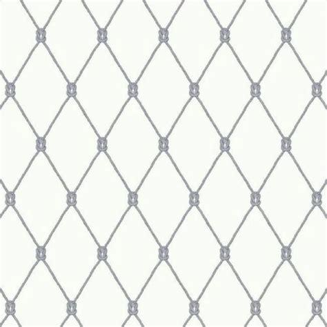 black and white diamond pattern wallpaper nantucket nautical beach blue knots in a diamond pattern