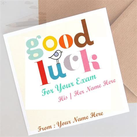 good luck wishes  exam   editing