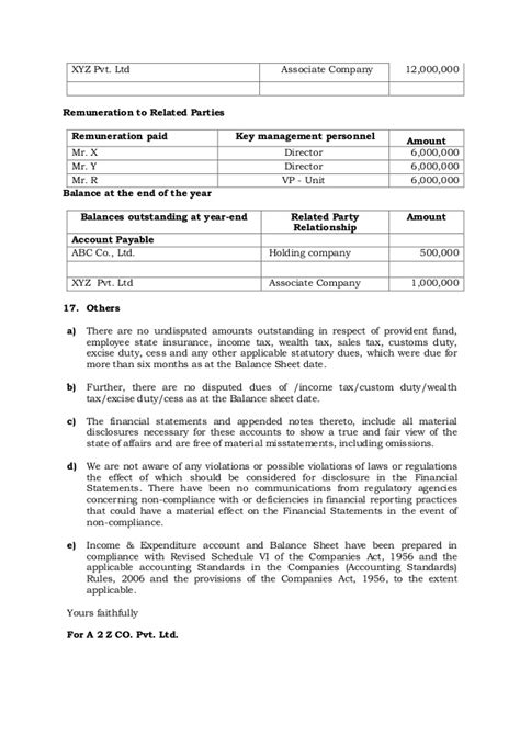 Representation For Transfer Letter Format Sle Management Representation Letter