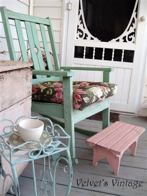 Shabby Chic Porch Decorating Ideas by Shabby Chic Porch On Porches Cottage Porch