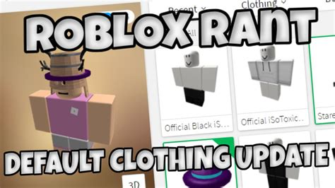 Sweater Switer Roblox 2 roblox rant default clothing update