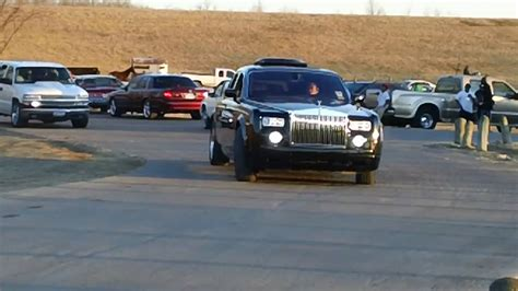 roll royce wraith rick ross is this rick ross in the hood rolls royce phantom youtube