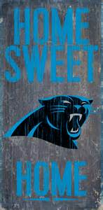 carolina panthers home carolina panthers home sweet home wood sign