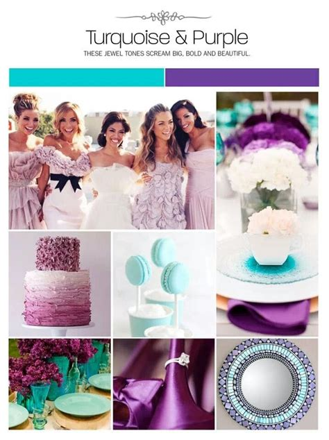 purple and turquoise wedding purple and turquoise wedding obligatory wedding board