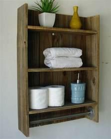Bathroom Towel Shelf Wood » Modern Home Design