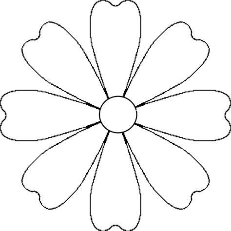 easy flower template flower pattern for o lantern flower o lanterns