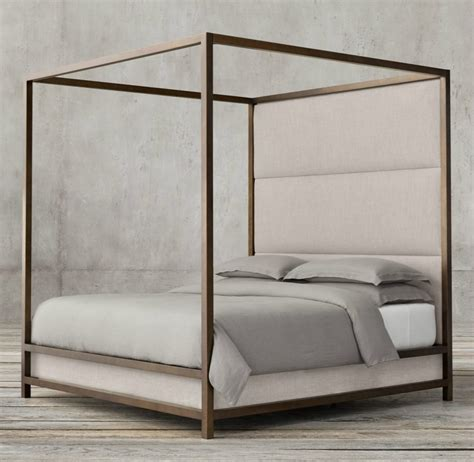 Metal 4 Poster Bed Frame High End Beds For A Winter S Nap