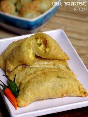 ordinary kitchen cireng aci digoreng isi keju