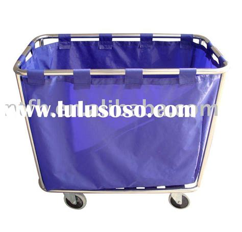 Pvc Linen Carts Rubbermaid Laundry Hers