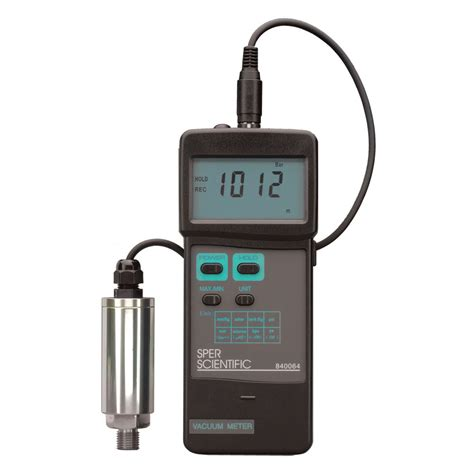 Meter Digital digital vacuum meter sper scientific