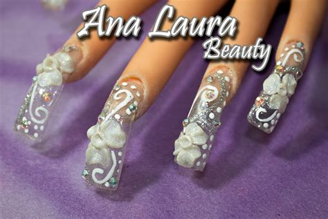 imagenes de uñas acrilicas para novias u 241 as de novia u 241 as de acr 237 lico para novia bridal nails