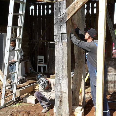 scheune konstruktion umbau und instandsetzung holz stein holzbau und