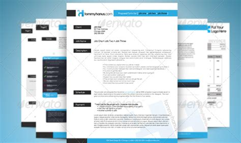 layout background proposal professional proposal and invoice templates designmodo