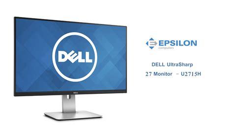 Dell Monitor 27 Ultrasharp U2715h dell ultrasharp 27 ips monitor u2715h unboxing review