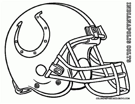 indianapolis colts coloring pages az coloring pages