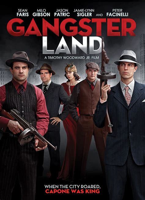 milo gibson as al capone in trailer for crime thriller gangster land firstshowing net