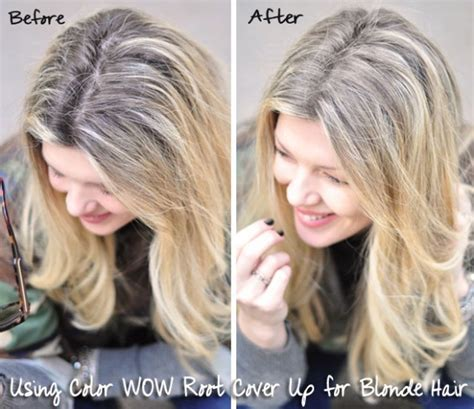 high lighted hair with gray roots hair touching up roots in between salon visits w color