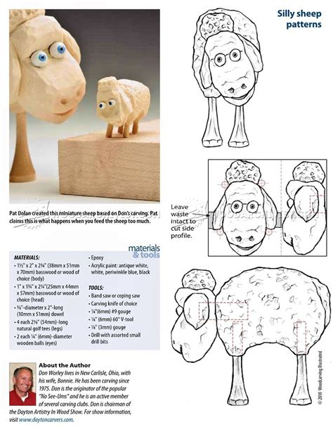 sheep carving wood carving patterns woodarchivist