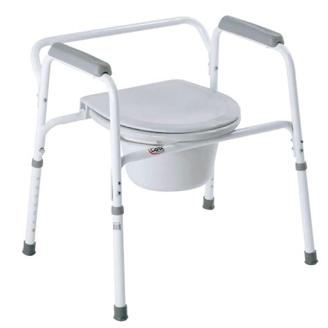 Bed Side Commode by Bedside Steel Commode Carex Health Brands B35711