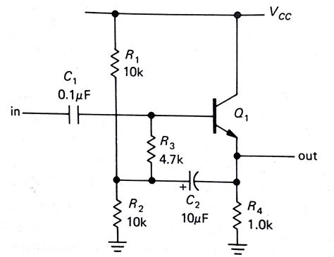 bootstrap circuit working circuit analysis of a emitter follower with bootstrap electrical engineering stack exchange