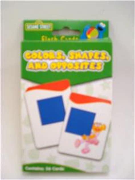 sesame educational flashcards colors shapes more with abby cadabby books colors shapes opposites flashcards preschool sesame st