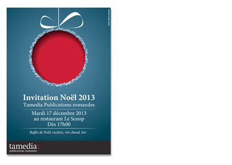 invitation noel design invitation noel entreprise
