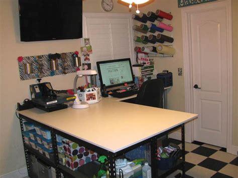 Ikea Table Top Desk Craftaholics Anonymous 174 Craft Room Tour Lana At Studio