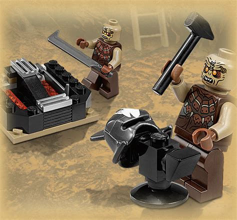 orc forge lego collection lord of the rings photo