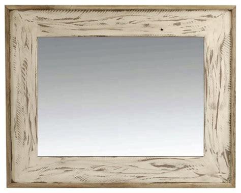 breathtaking distressed white wall mirror decorating ideas rustic mirror rustic denali antique white heavily