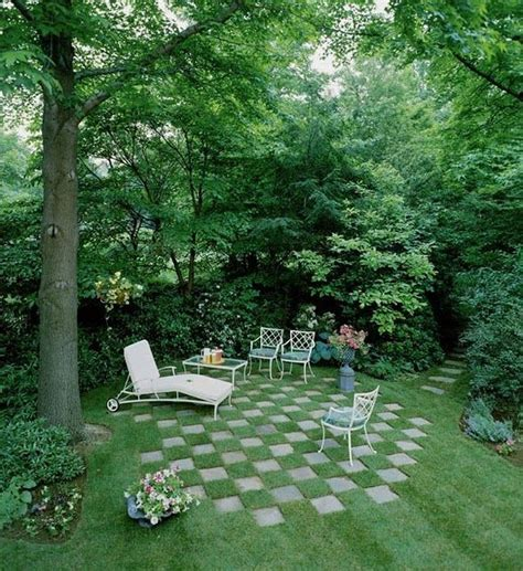 how to use pavers to make a patio checkerboard garden use pavers to create a low budget