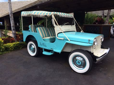 Island Jeep Original Jeep From Island At Hotel Wailea On