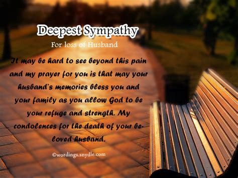 words of comfort loss of husband sympathy messages for loss of husband wordings and messages