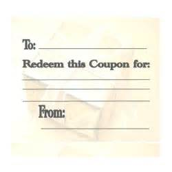 make your own coupons template make your own customizable coupon book free printables
