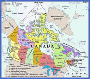 maps update 20481400 canada tourist attractions map