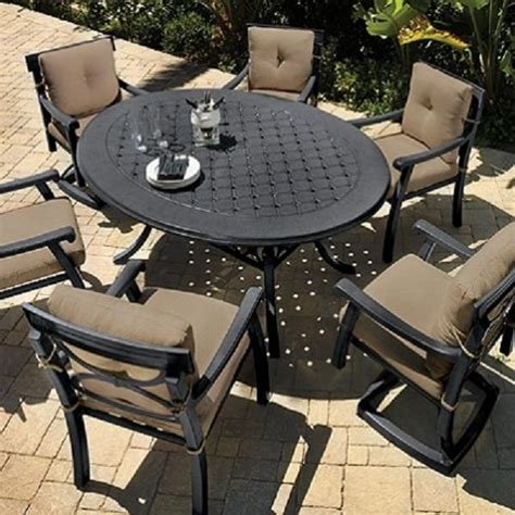 corona dining patio set by gensun free shipping