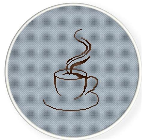 where to buy a cup a coffee cup buy 4 get 1 free cross stitch pattern