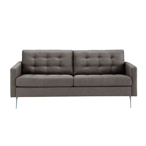 divani grigio divano grigio in tessuto 2 3 posti victor maisons du monde