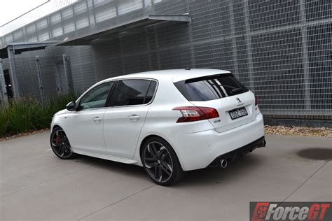 peugeot 308 gti white 2016 peugeot 308 gti 270 review