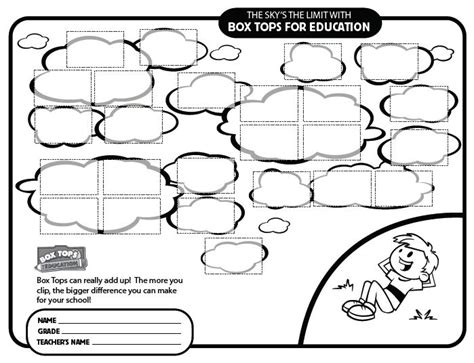 box tops on education minions and bulletin boards