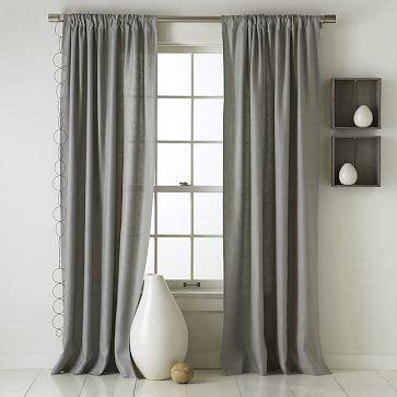 west elm linen curtains west elm linen in grey curtains